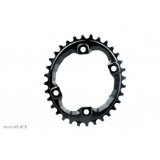 Absolute Black - Shimano XT M8000 Oval