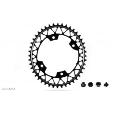 Absolute Black Gravel 1X Oval 110/4 - Shimano 9100 8000 9000 6800