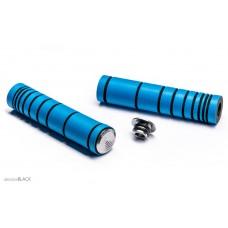 Absolute Black - mansoane silicon / albastru