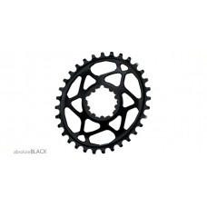 Absolute Black - Sram OVAL Direct Mount GXP (6mm offset)